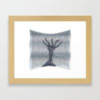 Treevile Framed Art Print