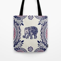 Elephant Pink Tote Bag