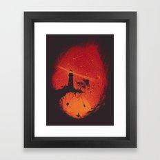 A Calm Place Framed Art Print