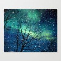 Aurora Borealis Northern… Canvas Print