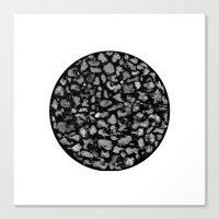 poussière Canvas Print