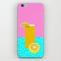 Lemonade /// www.pencilmeinstationery.com iPhone & iPod Skin