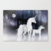 FANTASY - Unicorns Canvas Print