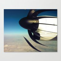 1200 RPM Canvas Print