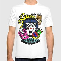 Imaginary Friends Mens Fitted Tee White SMALL