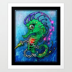 Basshorse Art Print