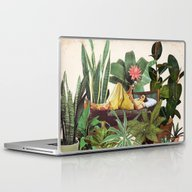 Laptop & iPad Skin featuring TERRARIUM by Beth Hoeckel Collage…