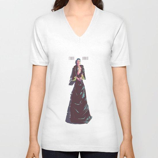 Frida Kahlo V-neck T-shirt