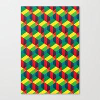 Construct (colour) Canvas Print