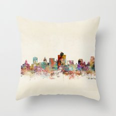 Salt Lake City Utah Throw Pillow