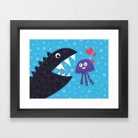 Impossible Love Framed Art Print