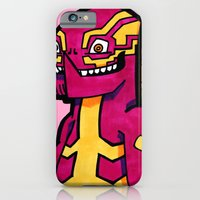 iPhone & iPod Case featuring stripezilla by certified-alberto