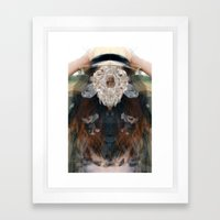 Birth//Death//Rebirth Framed Art Print