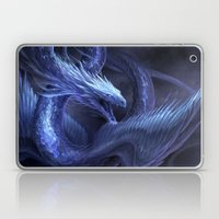 Blue Crystal Dragon Laptop & iPad Skin