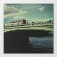 Westminster Bridge, Pola… Canvas Print