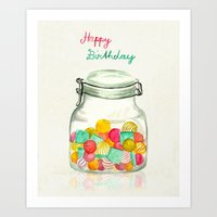 sweets for my sweet Art Print