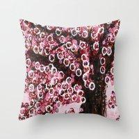 :: Pink Canopy :: Throw Pillow