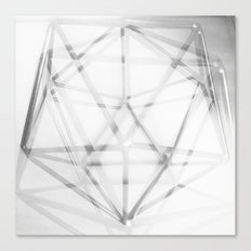 Geometry In Black And Wh… Canvas Print