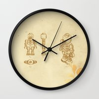 Lego Skeleton Wall Clock