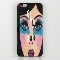 iPhone & iPod Skin featuring Girls Rule by Kathleen Sartoris