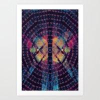 Squeegee Your Third Eye Art Print