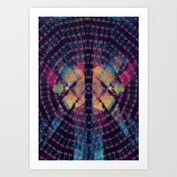 Squeegee Your Third Eye Art Print