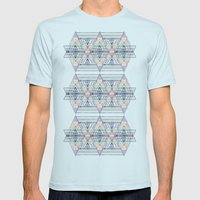 Aztec 2 Mens Fitted Tee Light Blue SMALL
