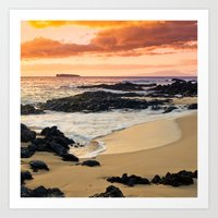 Paako Beach Dreams Art Print