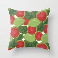 Guava Throw Pillow