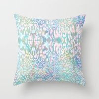 Animal Instinct #3 Throw Pillow