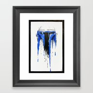 A Blue Hope 3 Framed Art Print