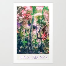 Junglism 3 Art Print