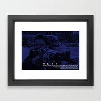 Movie Poster - Heat (Pac… Framed Art Print