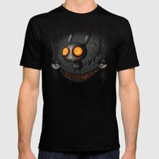 Pocket Monster #025 SMALL Black Mens Fitted Tee