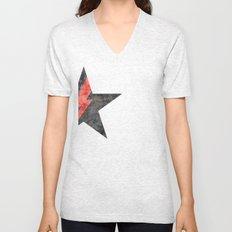 BlackStarMan (waiting in the sky) Unisex V-Neck