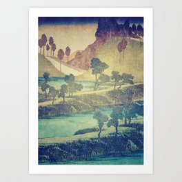 Art Print - A Valley in the Evening - Kijiermono