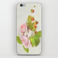 Roses & Berries N°3 iPhone & iPod Skin