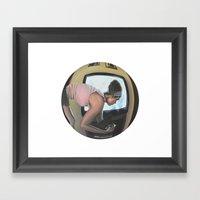 10:12 PM Framed Art Print