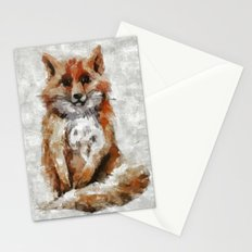 Foxy Fox Stationery Cards