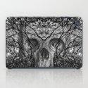 Skull trees iPad Case