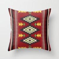 Navajo Pattern 3 Throw Pillow