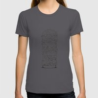 Giant Burger Womens Fitted Tee Asphalt SMALL