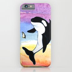 Best Friends Forever Whale and Penguin iPhone 6 Slim Case