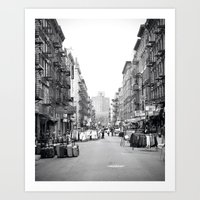 Lower East Side Market Art Print