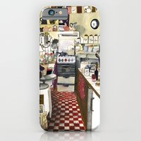 iPhone & iPod Case featuring Kitchen by Hanne De Brabander