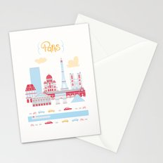 Paris Landscape Stationery Cards