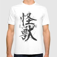 KAIJU Mens Fitted Tee White SMALL