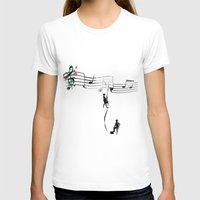 TANAN (Fighting For Love… Womens Fitted Tee White SMALL