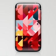 Triangle Color iPhone & iPod Skin