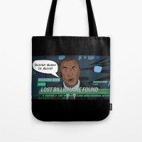 Starling City News Tote Bag
